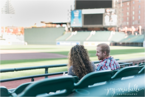 oriole park engagement session