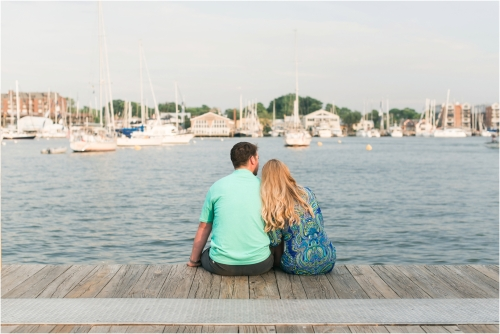 Downtown Annapolis Engagement pictures