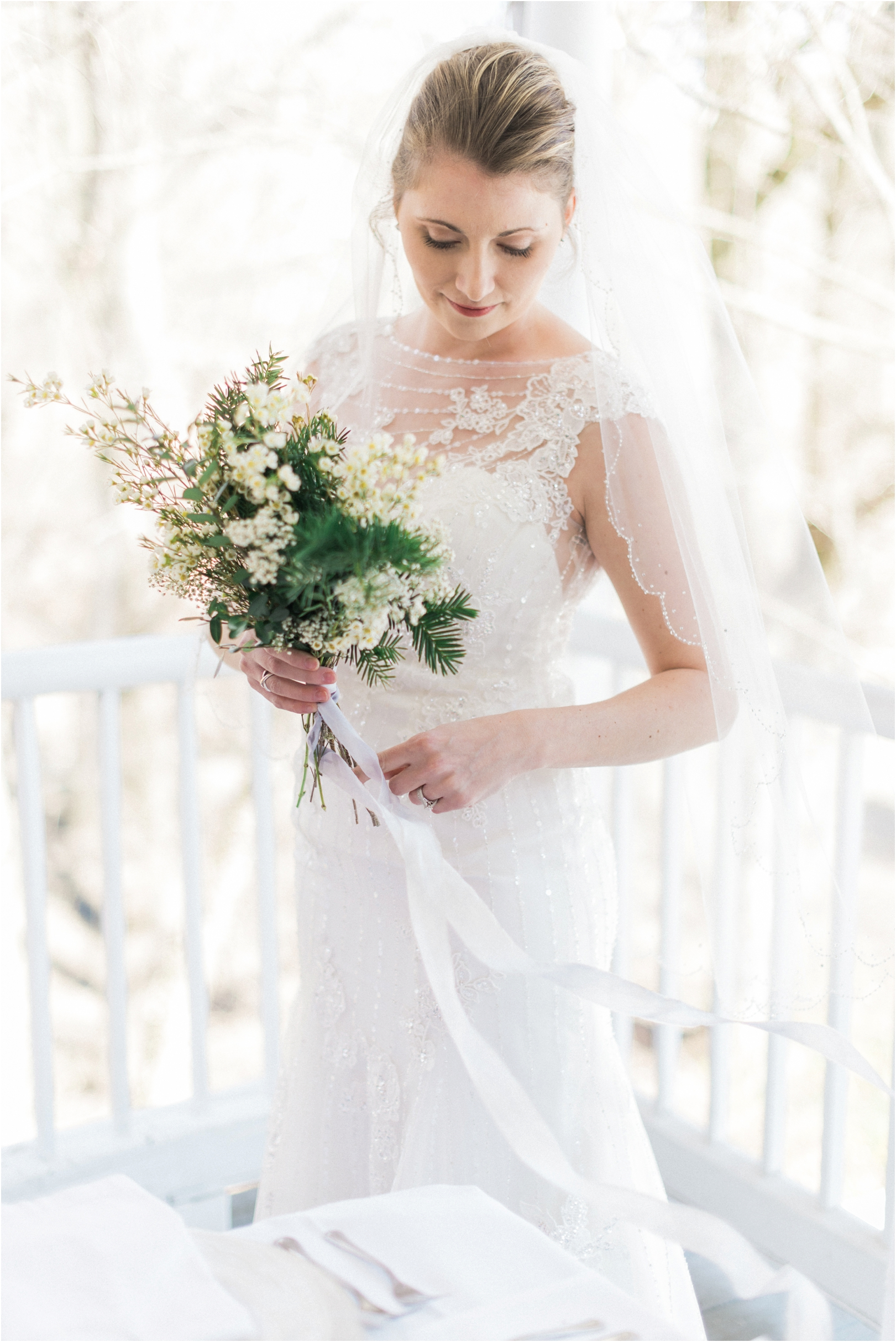 Elegant white wedding inspiration shoot joy michelle for All white wedding theme pictures